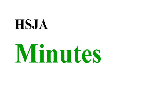 Read minutes from past HSJA meetings