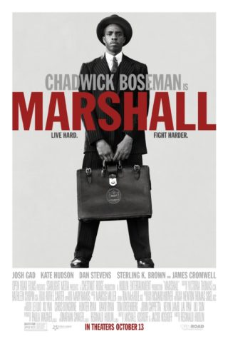 """Marshall"" is a biography of Supreme Court Justice Thurman Marshall and displays his early years as an attorney."