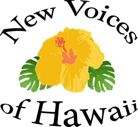 New logo for New Voices of Hawaii