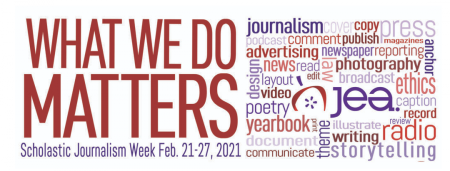 Scholastic Journalism Week is Feb. 21-27, 2021