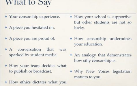 Tips for your New Voices testimony